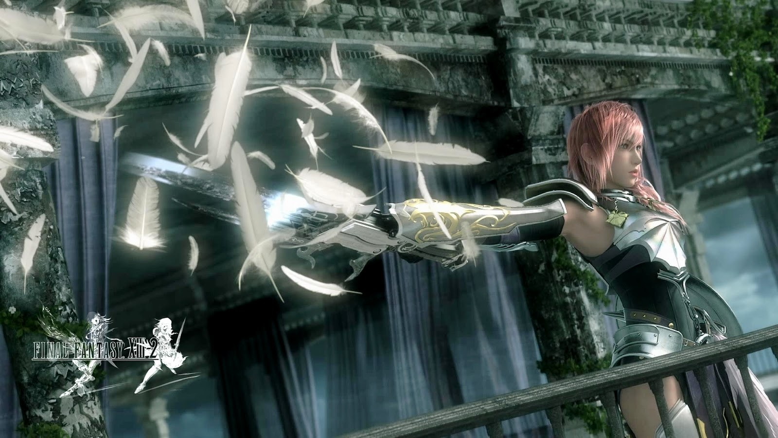 the bing final fantasy xiii 2 game wallpaper