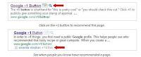 Butonul +1 Google