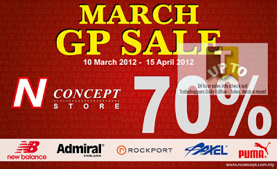 N Concept Store GP Sale END 15 APR 2012