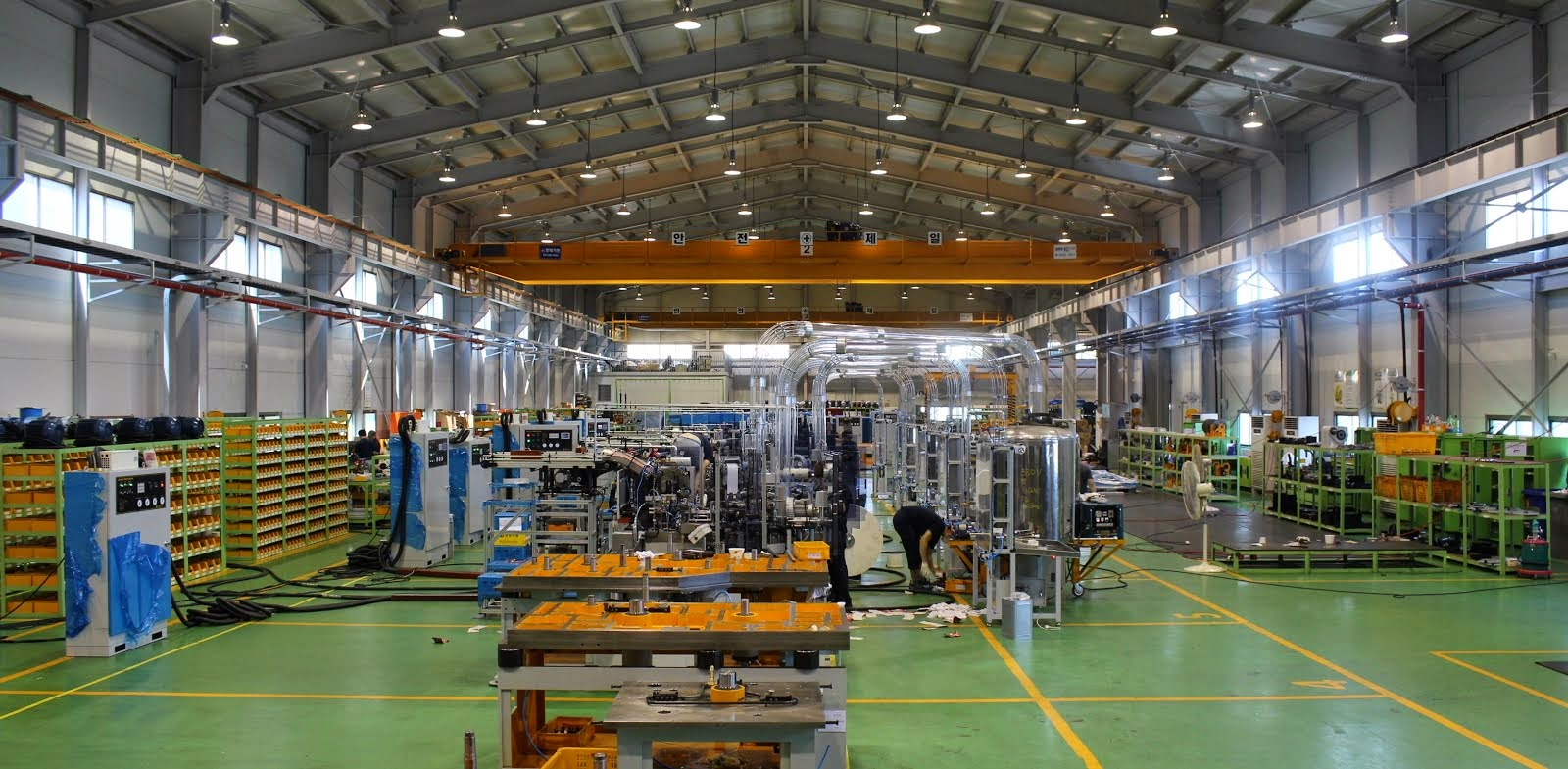 Factory's Inside View