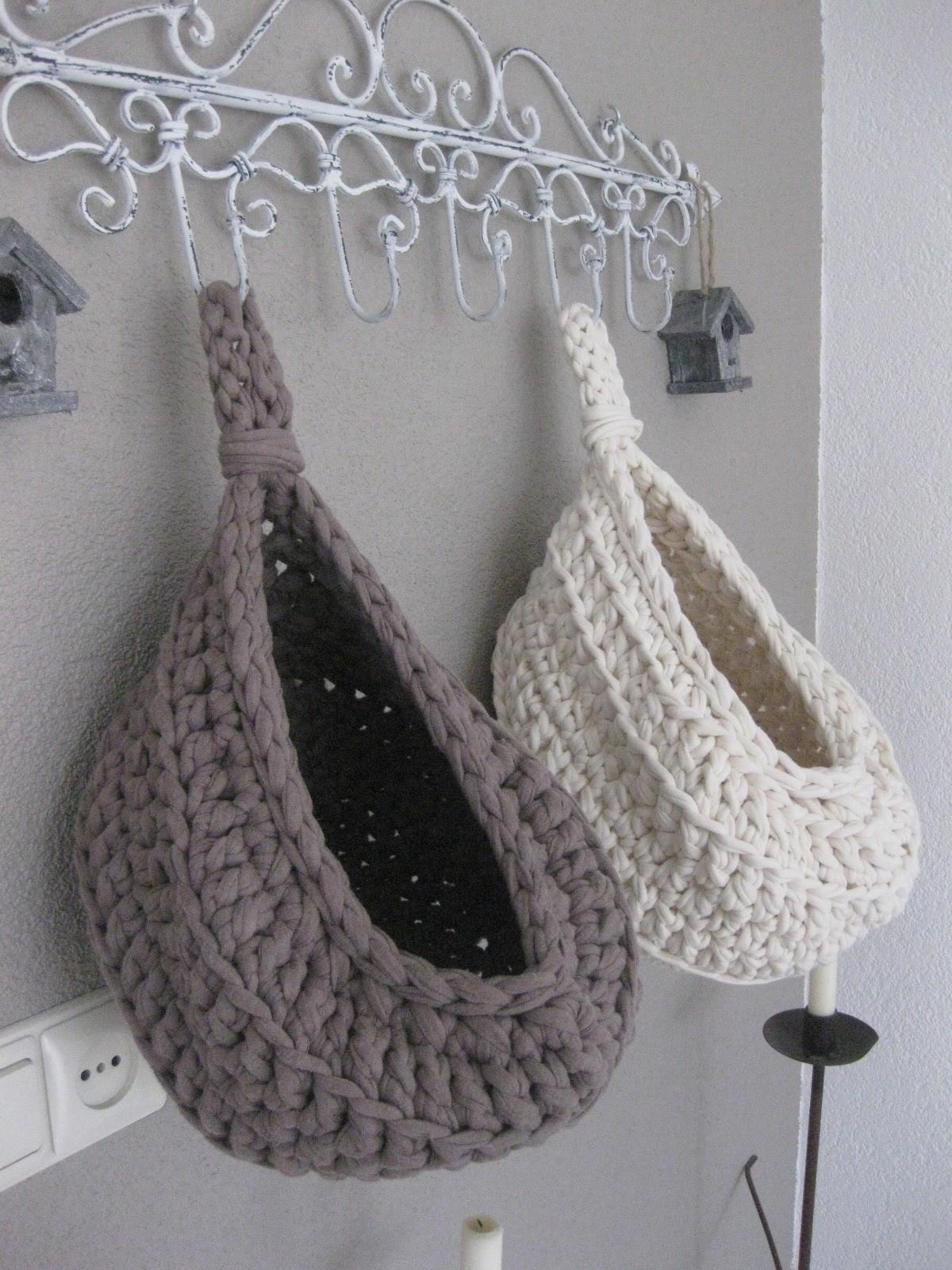 Stijl en zoooo!: Twee hanging baskets