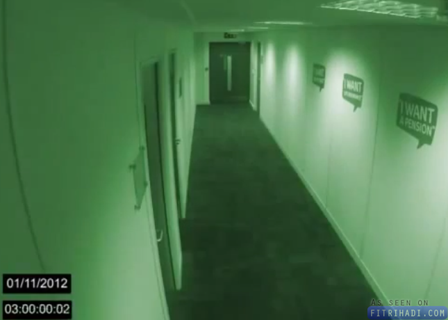 Video Hantu Office Tepat Jam 3 Pagi