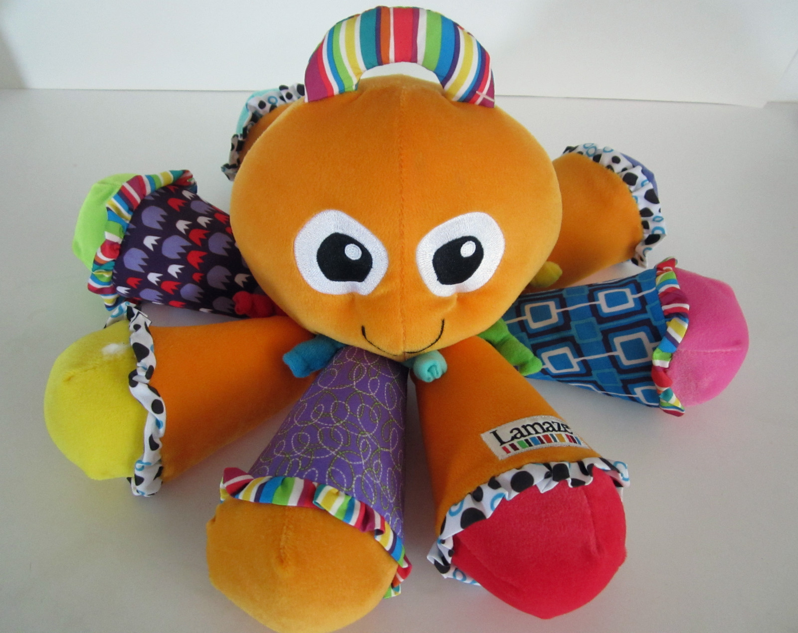 how to clean lamaze octopus