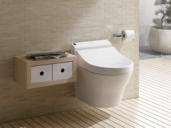 Accesorios De Baño Toto:Colección de Baños Modernos con Acentos Minimalistas