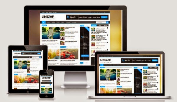 Linezap Blogger Template