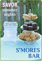 http://www.thrifterindisguise.com/2015/08/smores-bar-summer-party.html