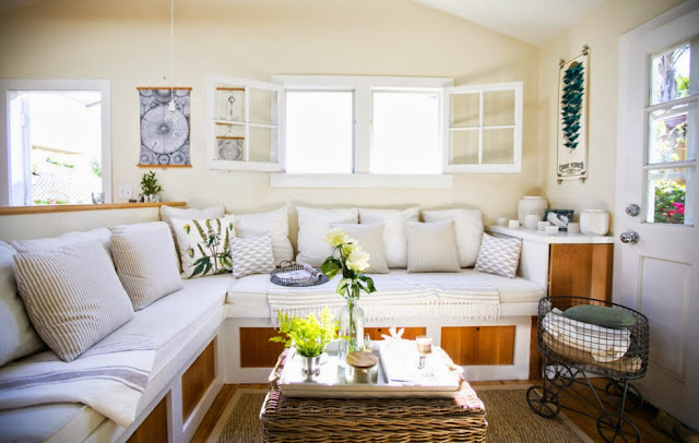 Einrichten auf kleinstem Raum – Mini-Format an Haus mit Design und Mut gestylt