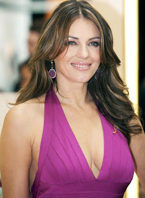 Elizabeth Hurley Gemstone Earrings