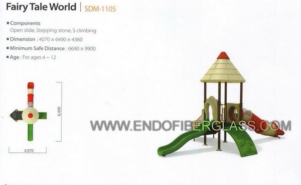 Theme Playground Fiberglass Profesional