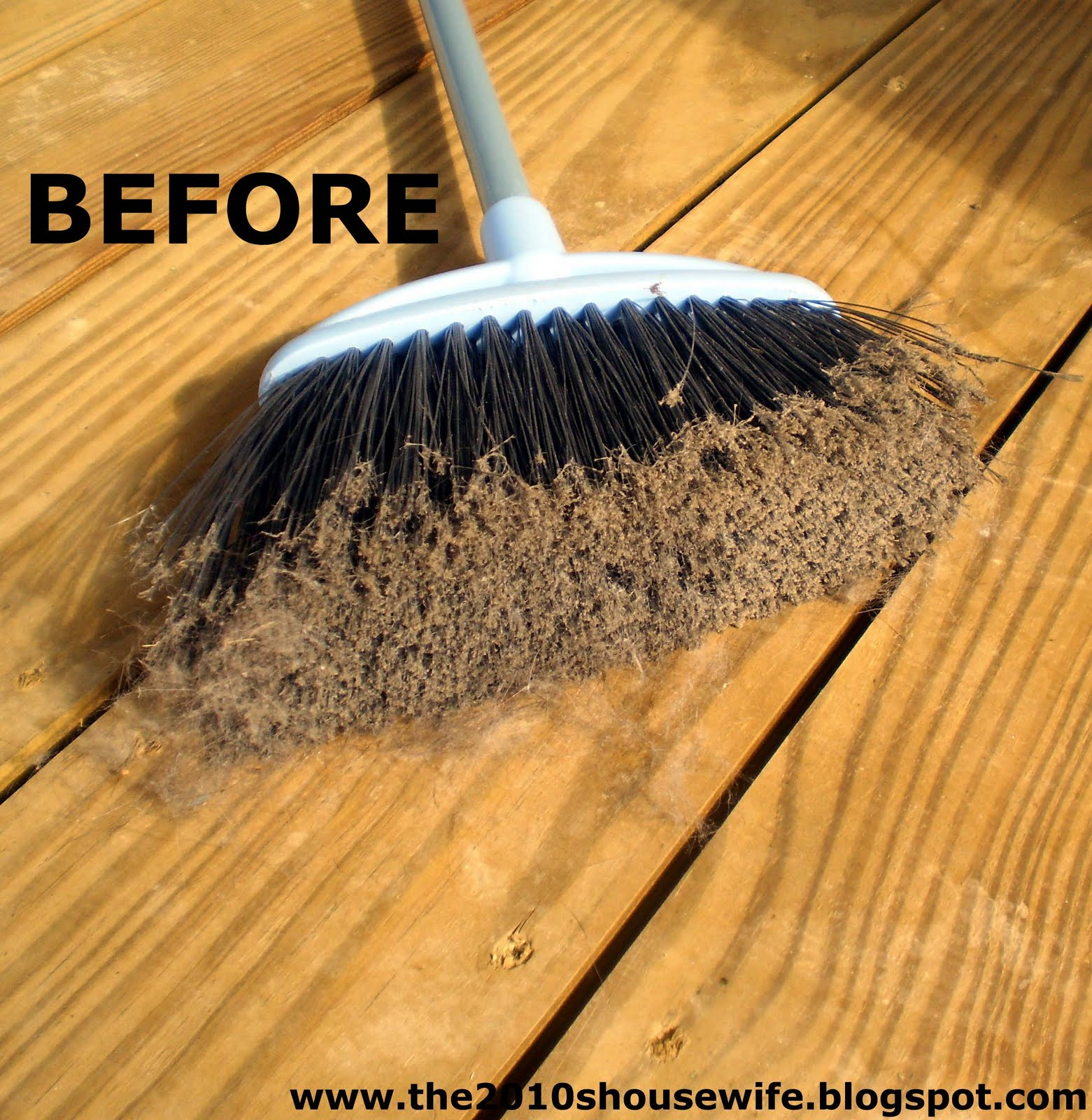 the 2010 s housewife how to clean a broom. Black Bedroom Furniture Sets. Home Design Ideas