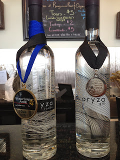 Oryza Vodka and Gin