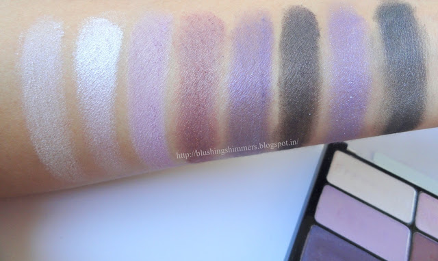Wet n Wild Color Icon Eyeshadow - Petal Pusher swatches