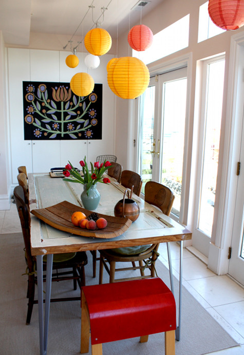 15 modern dining tables and creative dining table designs for Creative dining room tables