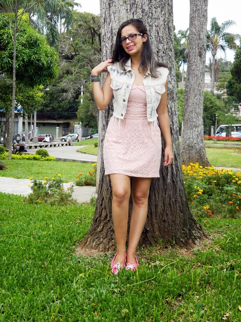 vestido com colete