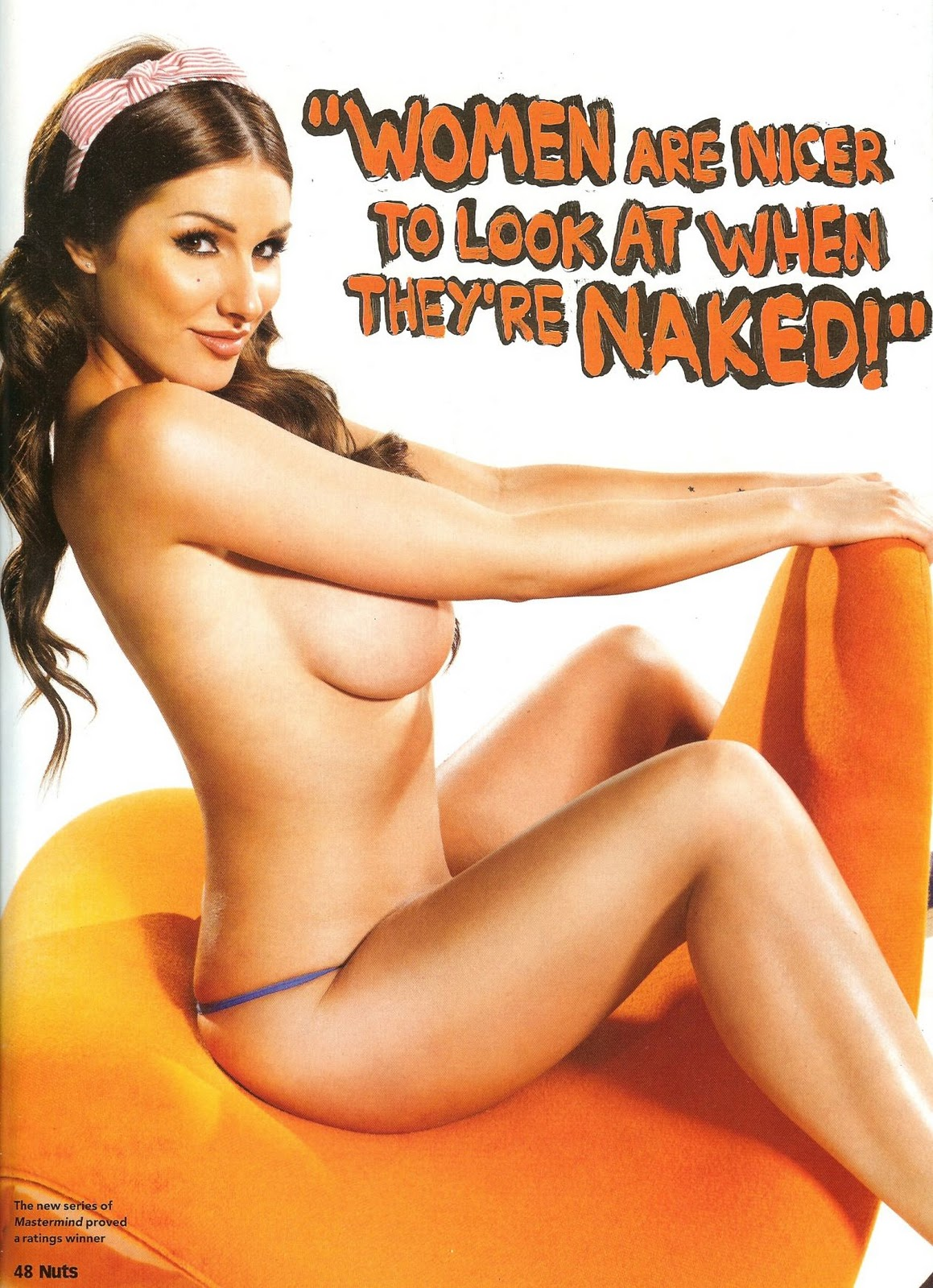 Lucy Pinder Nuts Topless HQ Pictures