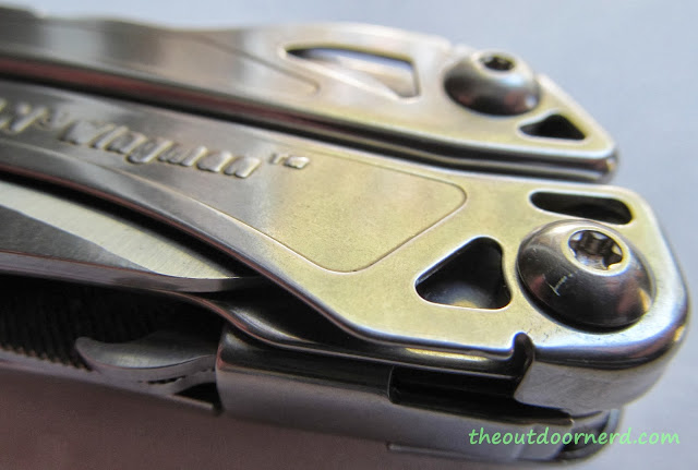Leatherman Wingman Multi-Tool - Top View Closeup