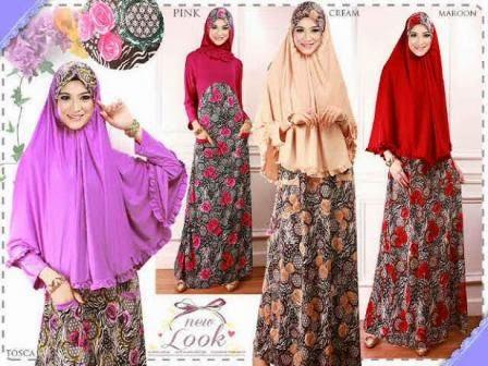 Aneka Model Baju Gamis Syari Terbaru Edisi Ramadhan Idul