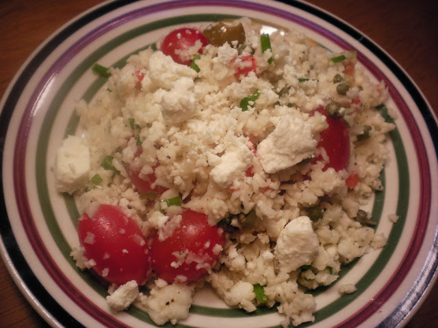 Greek Cauliflower Salad
