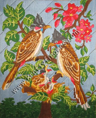 BulBul-Birds-Embroidery