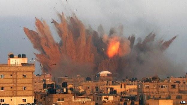 Israel Serang 100 Target Hamas di Gaza