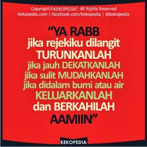 Dp BBM Doa Islami Tentang Rezeki dan Jodoh