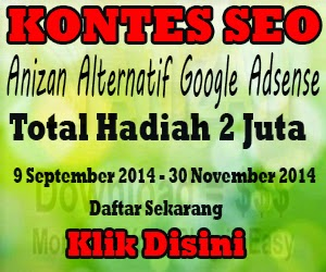 Anizan Alternatif Google Adsense - FREEFADHIL
