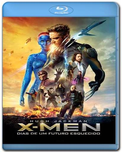 Download X-Men Dias de um Futuro Esquecido 720p + 1080p Bluray BRRip + BDRip AVI Dual Audio Torrent