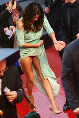 Eva Longoria sem cuecas no Festival de Cannes