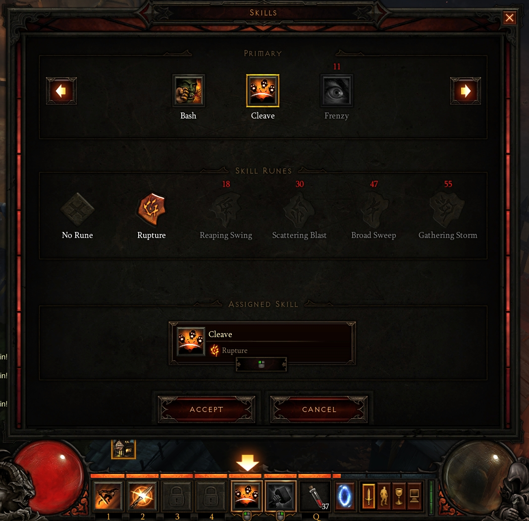diablo 3 assign skills to different slots