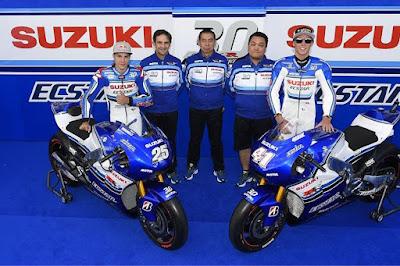 Ini Dia Tampang Livery Khusus Tim Suzuki Ecstar MotoGP