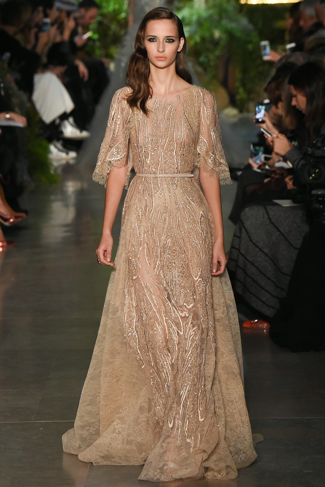 Robe cocktail elie saab