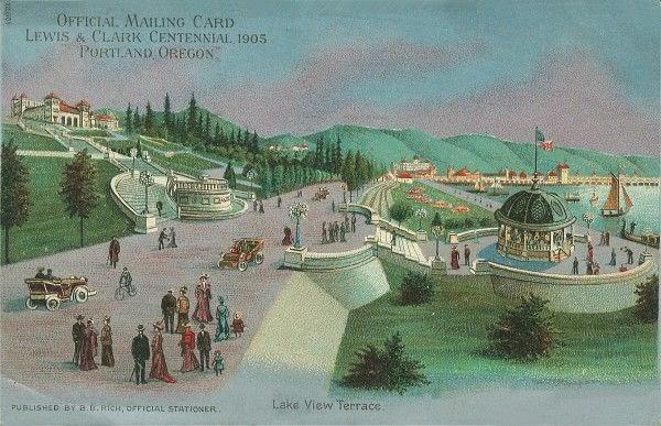 Lewis & Clark Centennial Lake View