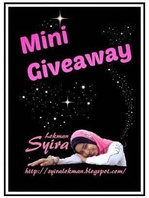 Mini Giveaway by Syira Lokman