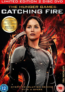 hunger games catching fire uk dvd