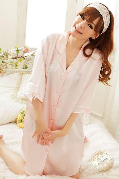 gambar Baju Tidur SLl942 Soft Pink