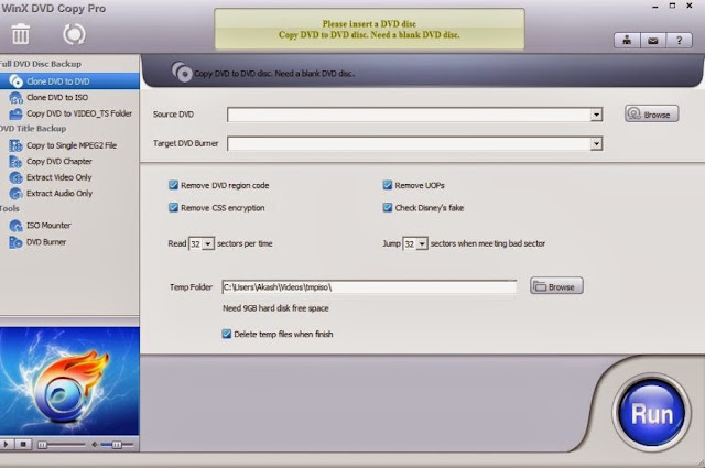WinX DVD Copy Pro is very easy to use with awesome features