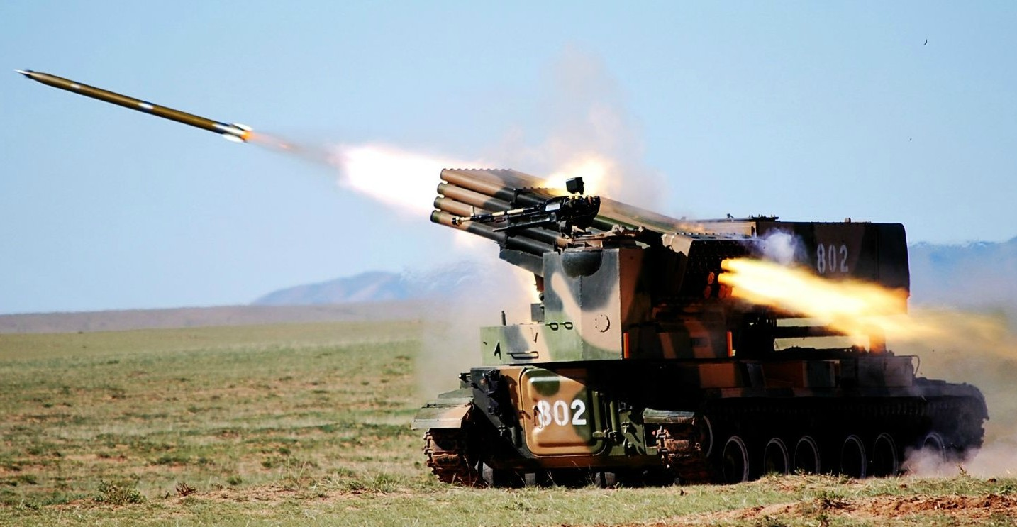 The PHZ89 122mm Multi-Barrel Rocket Launcher | Chinese ...