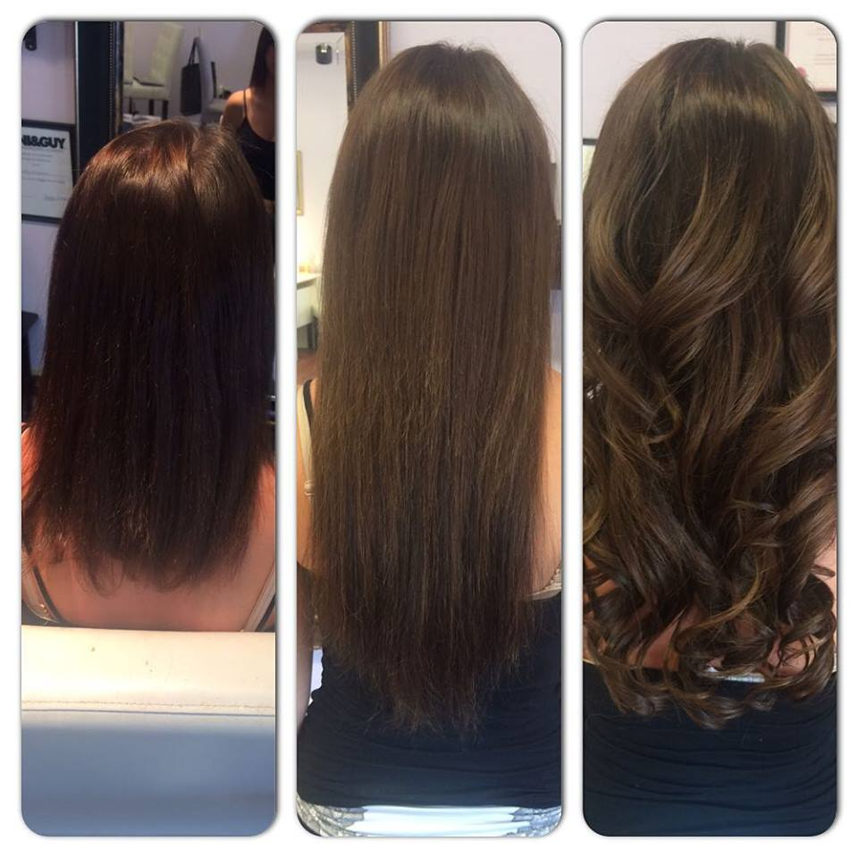 Hair Extensions By Jaclynn Kate Long Brunette Hair Extensions In