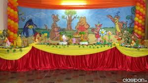 DECORACION CON WINNIE POOH Y SUS AMIGOS decoracionesparafiestasinfantiles.blogspot.com/