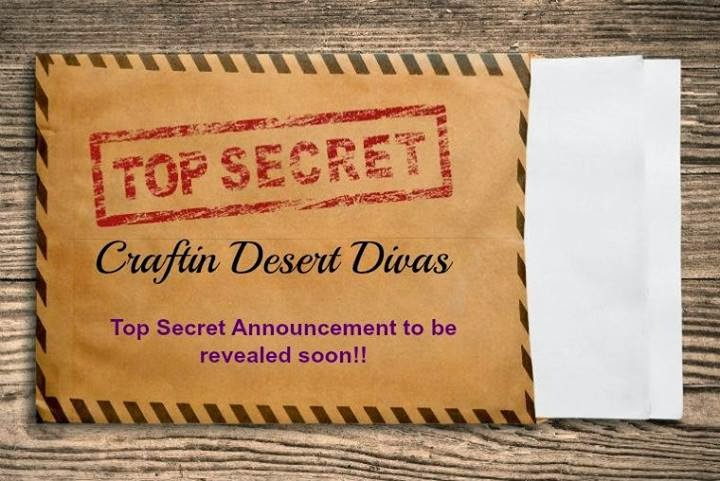 Top Secret Giveaway at CDD