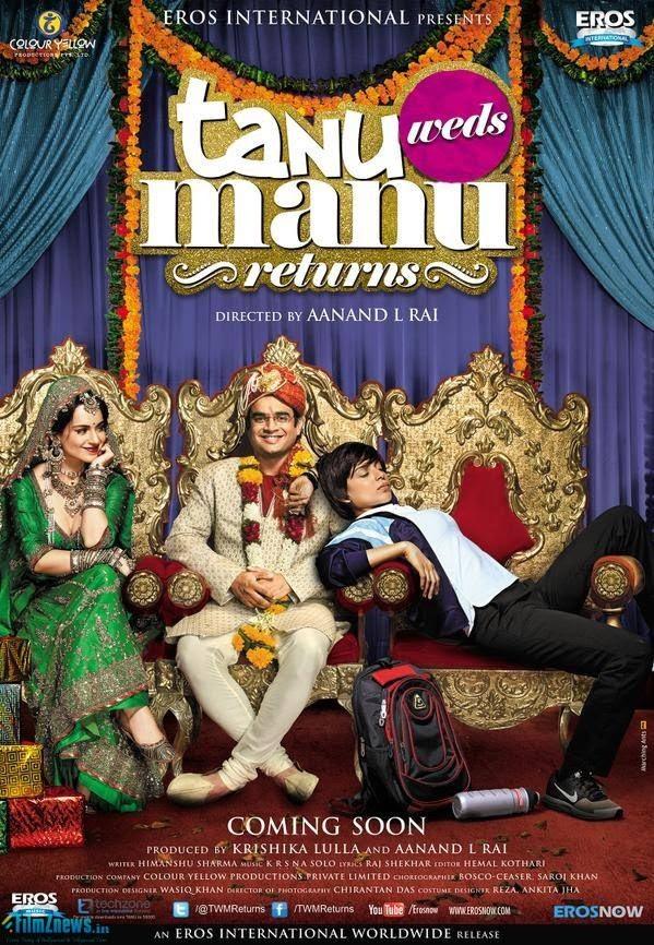 Tanu Weds Manu Returns (2015) First Look Poster