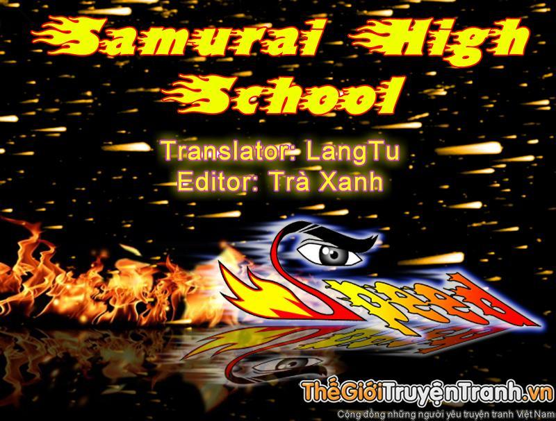 Samurai High School chap 25 Trang 1 - Mangak.info