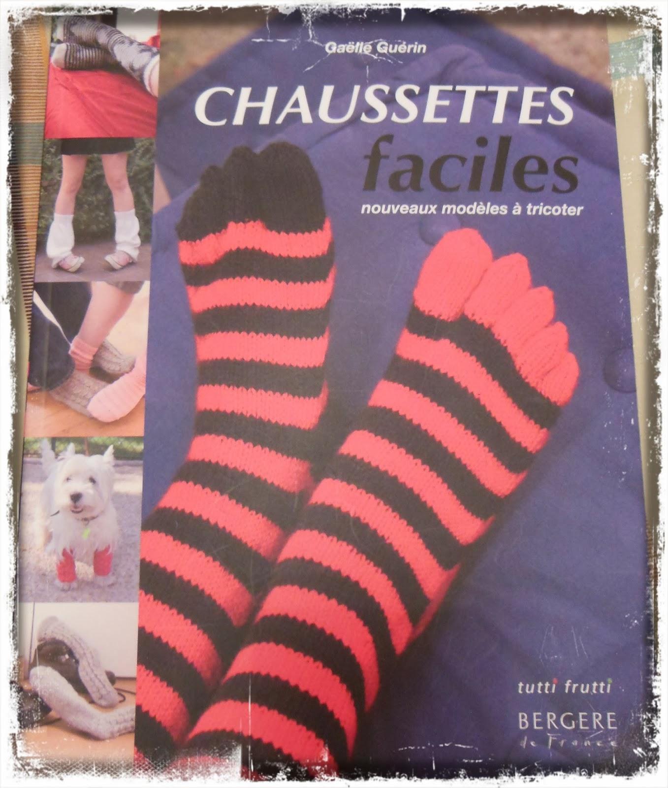http://www.amazon.fr/Chaussettes-faciles-Nouveaux-mod%C3%A8les-tricoter/dp/2915667748/ref=sr_1_1?ie=UTF8&qid=1408549495&sr=8-1&keywords=chausettes+faciles