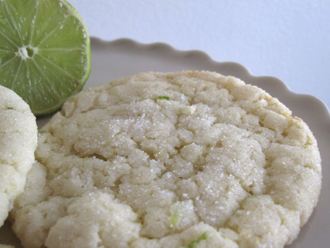 Goddess of Baking: Coconut Lime Sugar Cookies