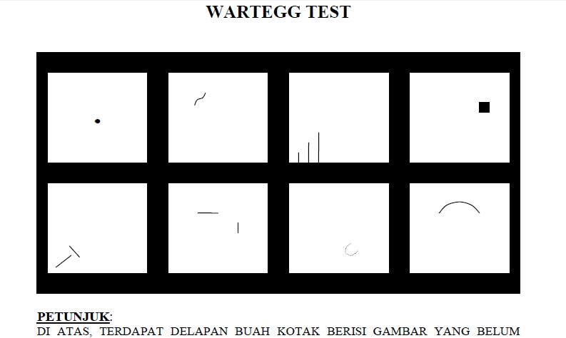 DownLoad Soal Psikotest Wartegg test