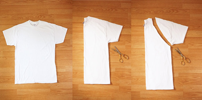Maker mama craft blog diy t shirt apron for Diy tee shirt printing