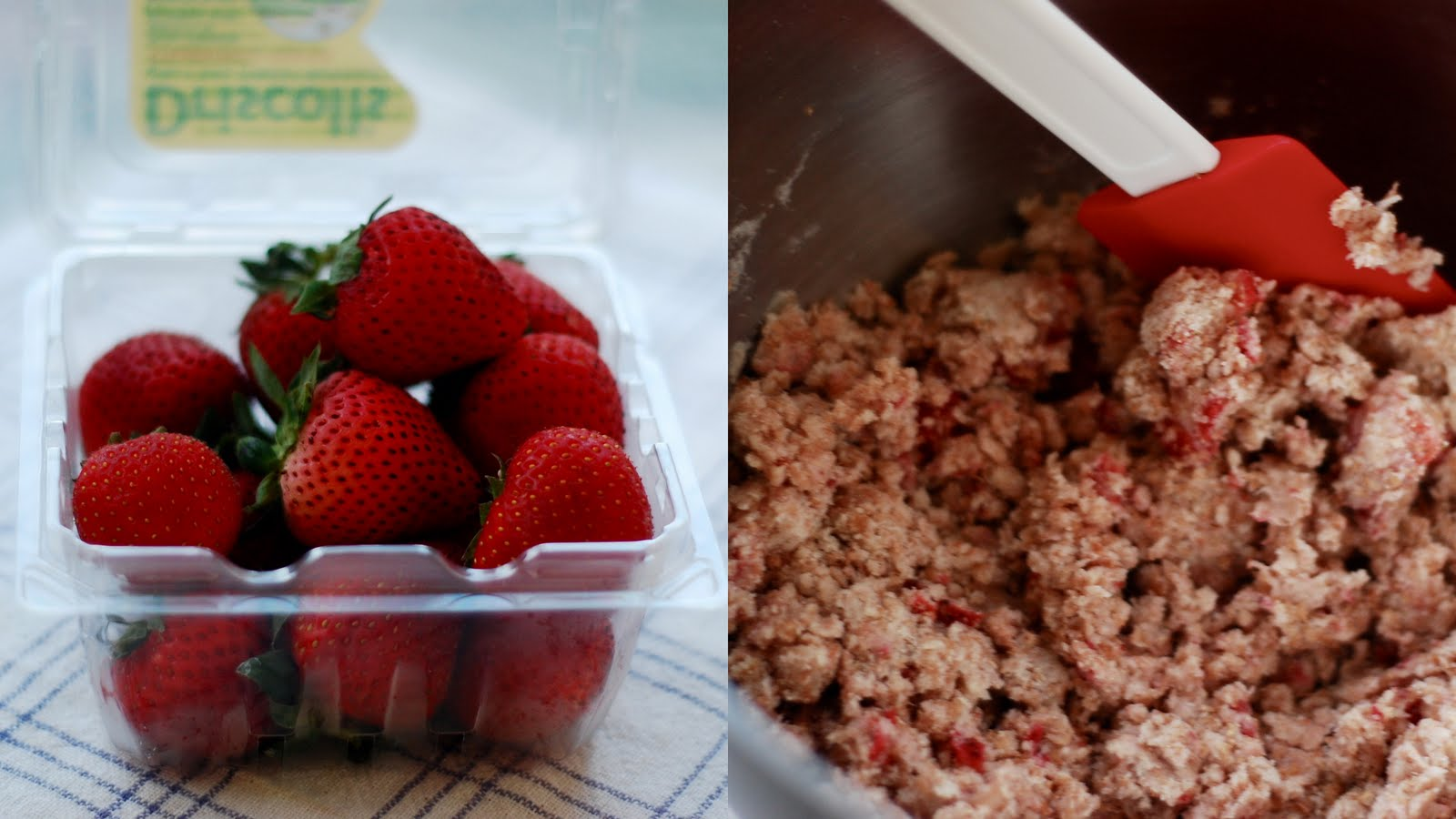 nodesserts: Strawberry, Ricotta and Yoghurt Scones