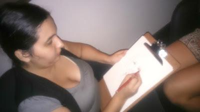 Dibujando en vivo