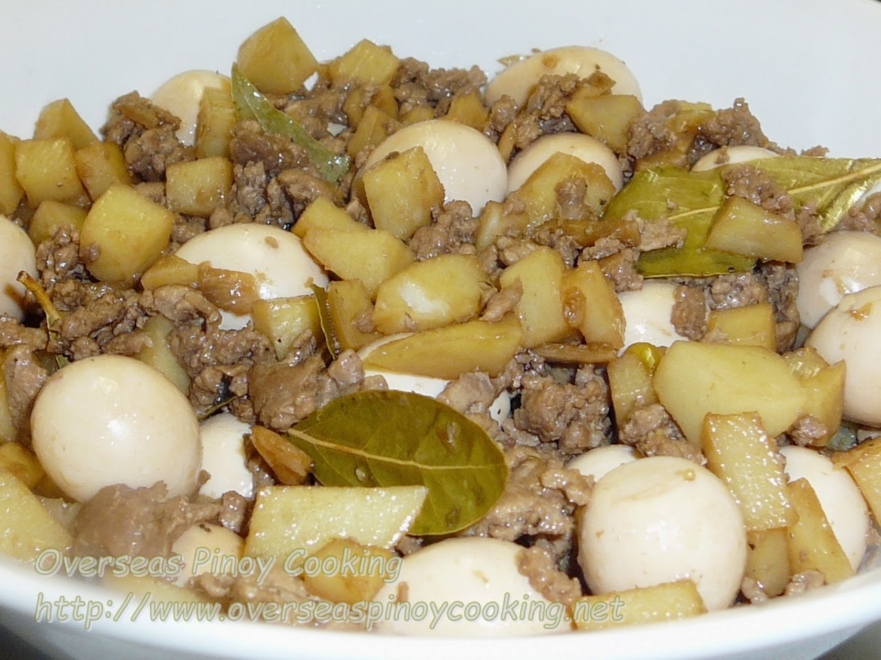 Ground Pork Adobo