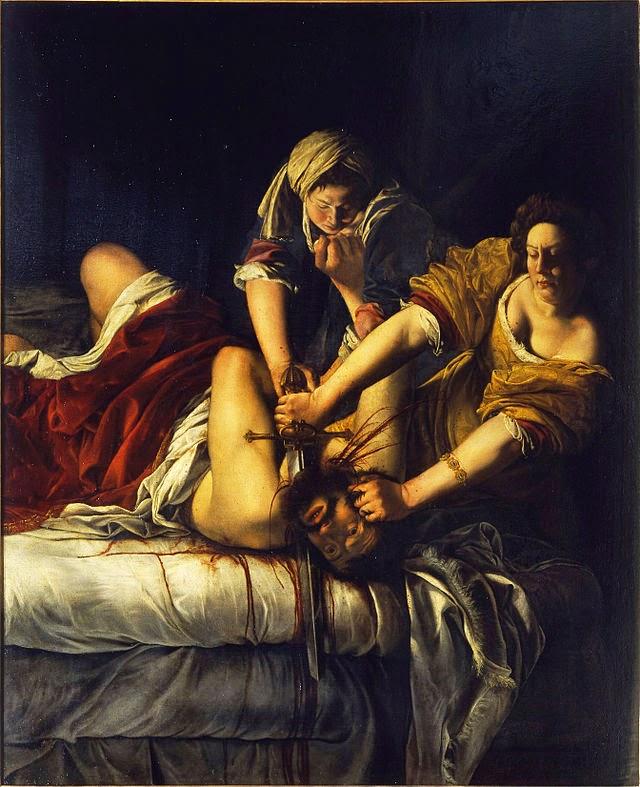 Pintura Artemisia Gentileschi
